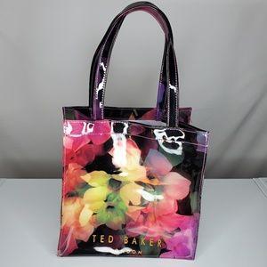Ted Baker London Plastic Floral Tote Shoulder Bag